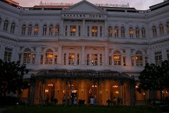 The regal Raffles Hotel opened in 1887 as a 10-room bungalow, and exactly one hundred years later in 1987, it was declared a national monument. The hotel has seen its fair share of kings and queens, presidents and movie stars. We couldn't afford to stay there are, but we did go in to gaze at its elegance and style.